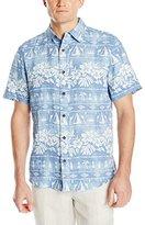 Margaritaville Men's Short Sleeve Bbq Shirt-Tribal Village