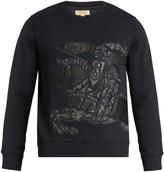 Burberry Equestrian Knight-appliqué sweatshirt