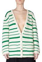 Loewe Striped Cashmere Cardigan