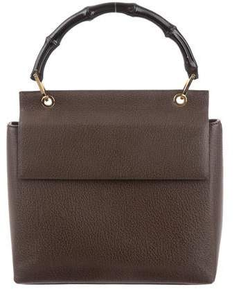 60ecdc627 Gucci Bamboo Handle Handbag - ShopStyle