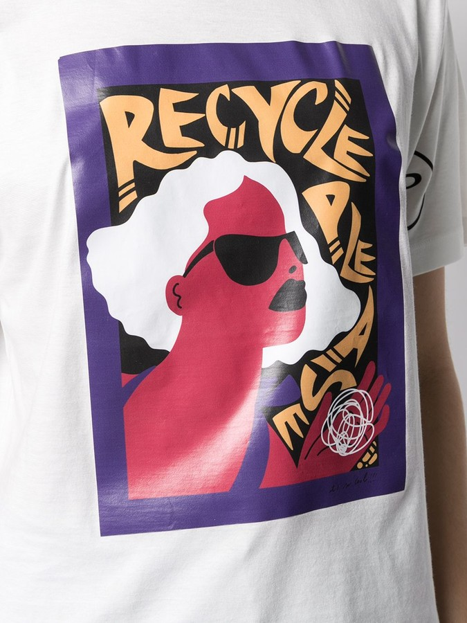 Thumbnail for your product : Peuterey graphic print crew-neck T-shirt