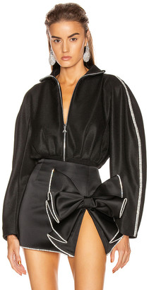 Area Track Bodysuit in Black | FWRD