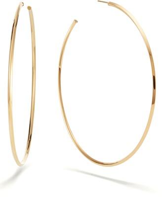 Lana Casino Hollow Hoop Earrings