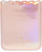 Kate Spade Scallop Adhesive Phone Pocket
