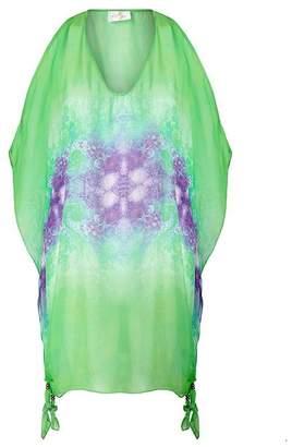 Aya Silk Emerald Tunic