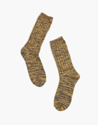 Madewell Crew Socks in Melange