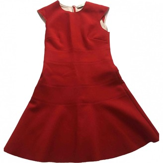 Sandro Red Polyester Dresses