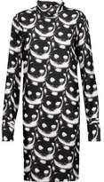 Nina Ricci Printed Silk Mini Dress