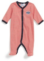 Petit Bateau Infant Boy's Stripe Footie