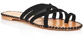 Charles David Women's Session Slip On Strappy Sandals