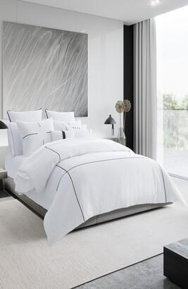 Vera Wang Zigzag Cotton Sateen Comforter & Sham Set
