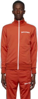 Palm Angels Red Classic Track Jacket