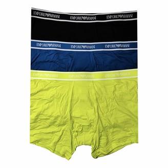 Emporio Armani Men's Multipack-Core Logoband 3-Pack Boxer Shorts