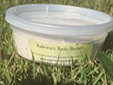 Sabrina's Superior Egyptian Musk Type Scented Body Butter.... Made of Whipped Shea Butter, Cocoa Butter, Aloe Vera, Coconut Oil, Grape Seed Oil, and Vitamin E...8oz Container