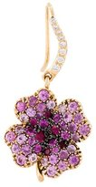 Aurelie Bidermann 'Clover' sapphire earring