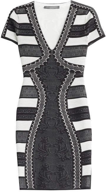 Alexander McQueen Mini Dress with Silk