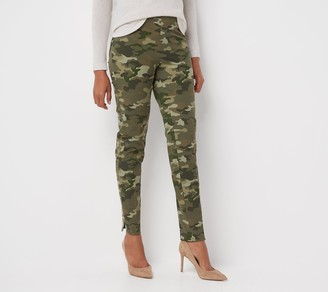 Isaac Mizrahi Live! Tall 24/7 Stretch Solid or Print Ankle Pants