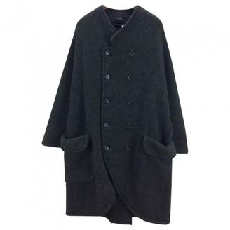 Limi Feu Green Wool Coat for Women