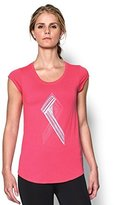 Under Armour Women's Power in Ribbon T-Shirt