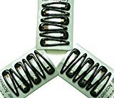 Inca 18 x Bottle Green Sleepy Clips/ Snap Clips/ Hair Clips - School Colours