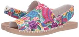 Reef Escape Sling Prints (Multi Floral) Women's Sandals