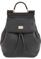 Dolce & Gabbana 'Mini Miss Sicily' Leather Backpack