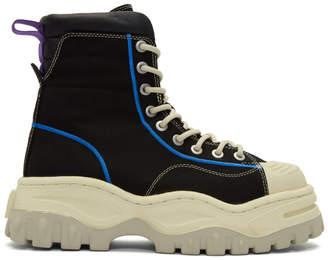 Eytys Black Canvas Akira Sneakers