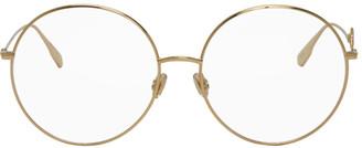 Christian Dior Gold DiorSignature2 Glasses