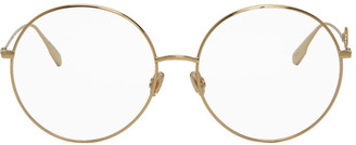 Christian Dior Gold DIORSIGNATUREO2 Glasses