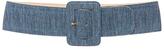 Isa Arfen Denim Belt with Leather Backing