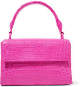 Nancy Gonzalez Crocodile Tote - Fuchsia