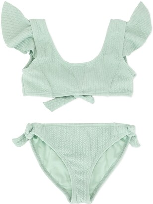 Duskii Girl Aya frill bikini set