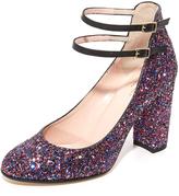 Kate Spade Baneera Glitter Pumps
