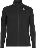 Nike Fleece-Back Wool-Blend Golf Jacket