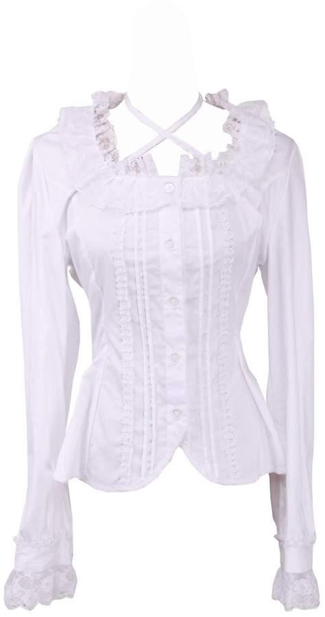 339ea482bdb7cd Womens Victorian Blouse - ShopStyle Canada