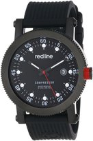 Redline Red Line Men's 18000-01-BBSSET Compressor Interchangeable Silicone Watch