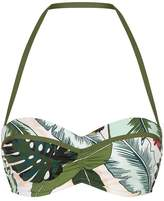 Seafolly Palm Printed Halterneck Bikini Top