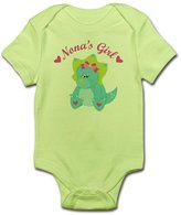 CafePress - Nona's Girl Dinosaur - Cute Infant Bodysuit Baby Romper