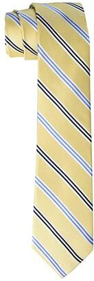 LAUREN Ralph Lauren Kids Oxford Stripe Tie (Big Kids) (Yellow) Ties