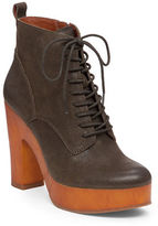 Lucky Brand Tafari Leather Ankle Boots
