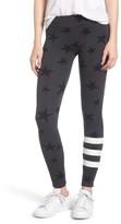 Sundry Women's Stripe Star Leggings