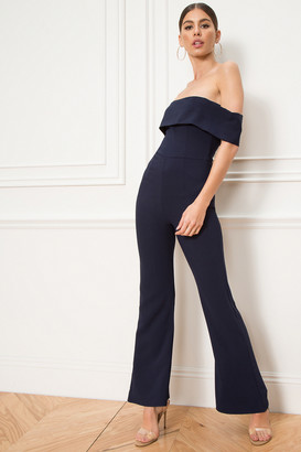 by the way. Aubrey Off Shoulder Jumpsuit