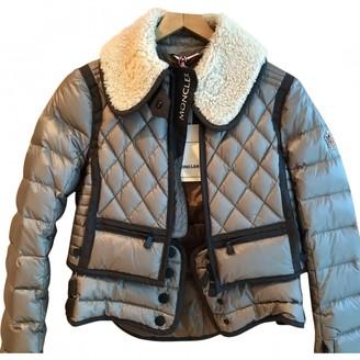 Moncler Grey Coat for Women