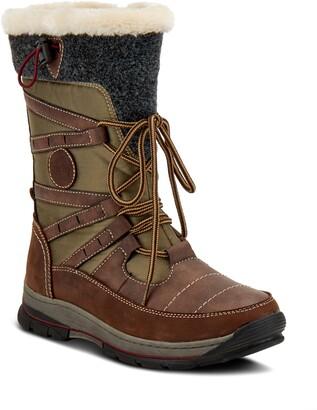 Spring Step Brurr Faux Fur Lined Waterproof Snow Boot