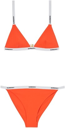 Burberry logo tape bikini