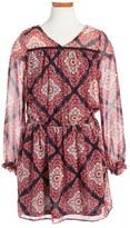 Ella Moss Girl's Alena Print Dress