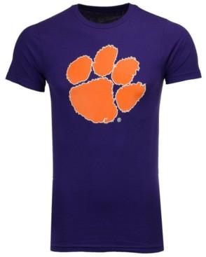 New Agenda Men's Clemson Tigers Big Logo T-Shirt