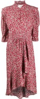 BA&SH Chelsea abstract floral-print dress
