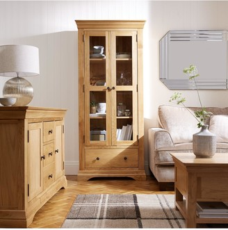 Luxe Collection Constance Oak Ready Assembled Bookcase