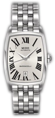 MIDO Ladies Watch Automatic Baroncelli Tonneau M0031071103300